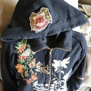 Johnny Was Tops - Johnny Was | Old Milwaukee Days Circus hoodie EUC
